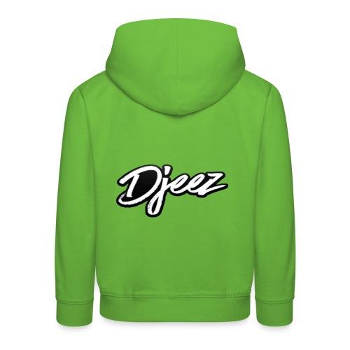 Djeez Merchandise - Kinderen trui Premium met capuchon