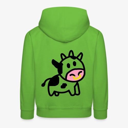 Cute Cow - Kids' Premium Hoodie