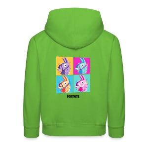 Fortnite Four Llamas - Kids' Premium Hoodie