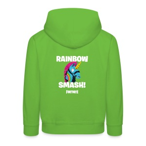 Fortnite Rainbow Smash - Kids' Premium Hoodie