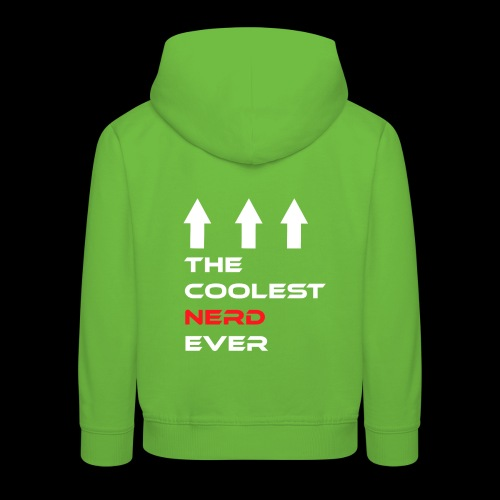 The coolest Nerd ever - Kinder Premium Hoodie