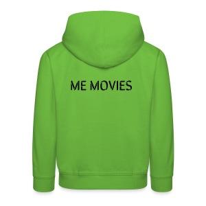 ME MOVIES - Premium-Luvtröja barn
