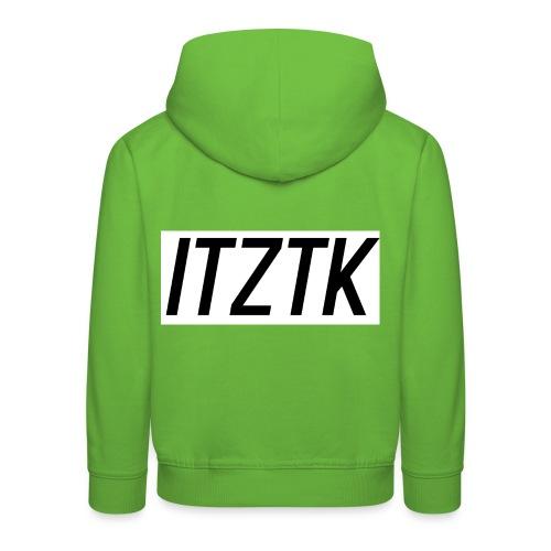 ItzTk black print - Kids' Premium Hoodie