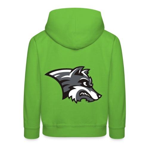 Wolf-Shirt by Noi & weiteren Anonymen Leuten - Kinder Premium Hoodie