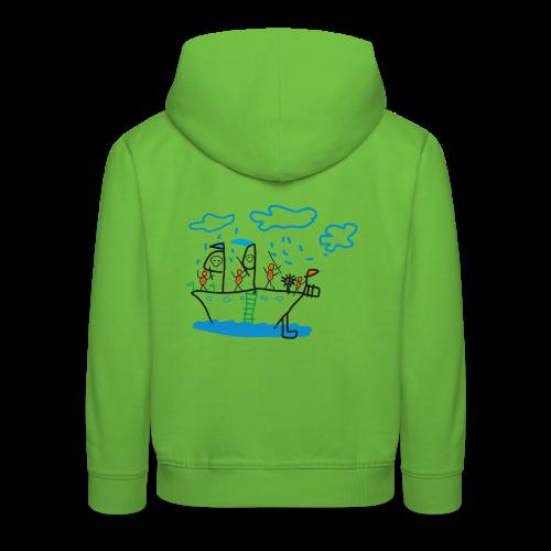 Piratenschiff - Kinder Premium Hoodie