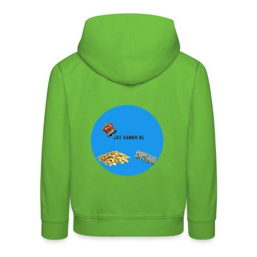Jaygamernl logo - Kinderen trui Premium met capuchon