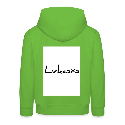 Lvkasxs Hochformat - Kinder Premium Hoodie
