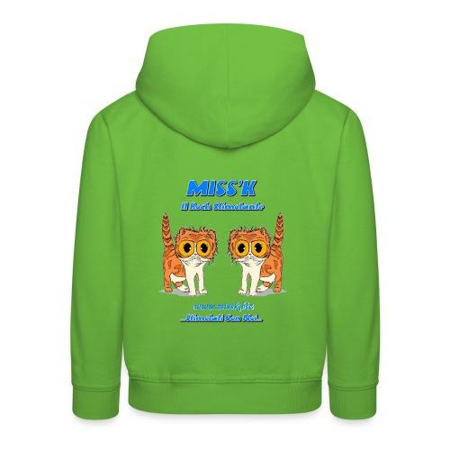 MissK Merchandising - Felpa con cappuccio Premium per bambini