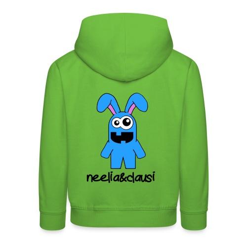 neelia und clausi Logo - Kinder Premium Hoodie