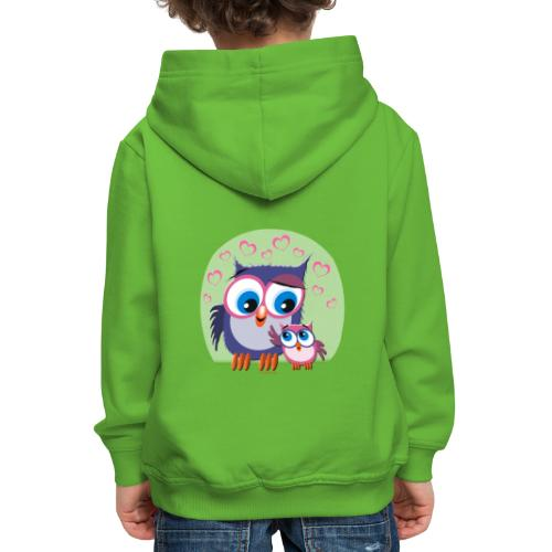 10-31 OWLS - PÖLLÖT - Lasten premium huppari