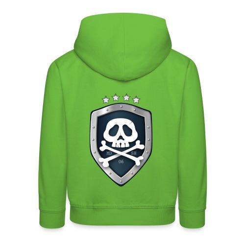 champion's league skull 06 - Pull à capuche Premium Enfant
