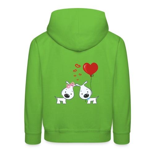 Hunde_Liebe - Kinder Premium Hoodie