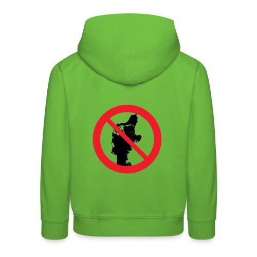 Jylland forbudt - Børnekollektion - Premium hættetrøje til børn