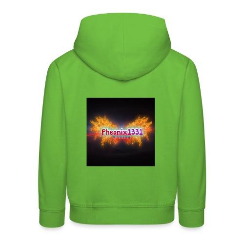 Flaming Pheonix YT - Kids' Premium Hoodie