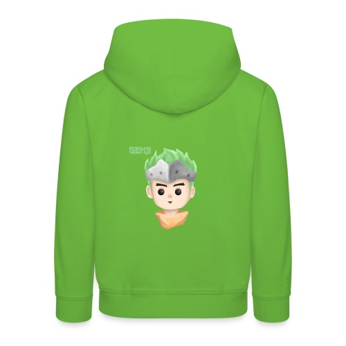 Young Genji - Made by Alpha - Kinder Premium Hoodie
