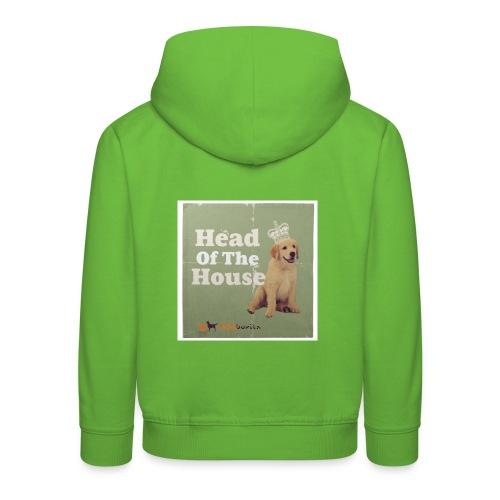 King Golden Retriever Puppy - Felpa con cappuccio Premium per bambini