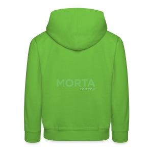 MORTA - Felpa con cappuccio Premium per bambini