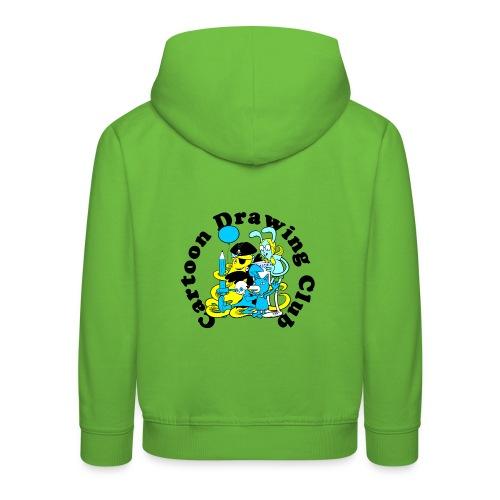 Cartoon Drawing Club - Kids' Premium Hoodie