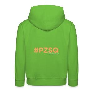 PZSQ 2 - Felpa con cappuccio Premium per bambini