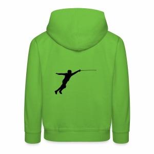 Jumping Fencer - Kinder Premium Hoodie
