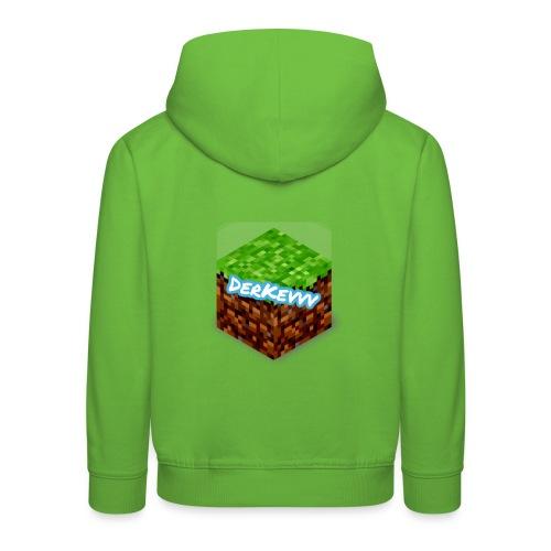 DerKevvv (Gras Block) - Kinder Premium Hoodie