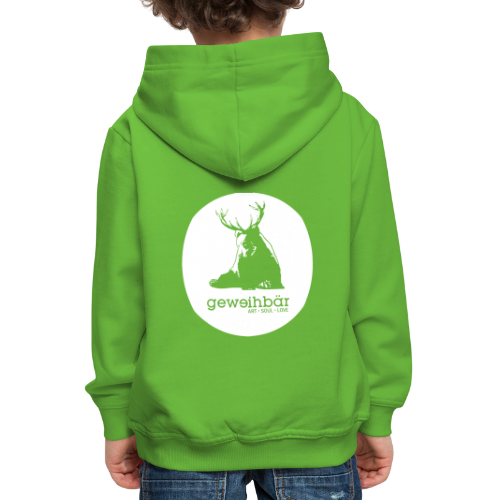 geweihbär - Kinder Premium Hoodie