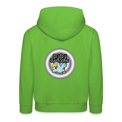 Birdringtoons - Kinderen trui Premium met capuchon