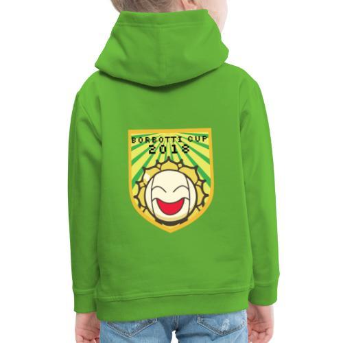 BorbottiCuP 2018 Logo - Felpa con cappuccio Premium per bambini
