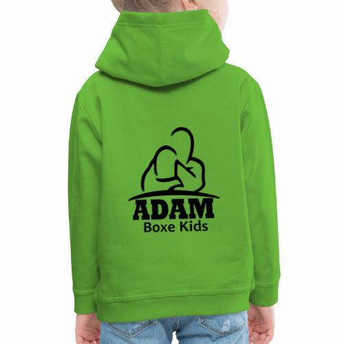 Logo adam boxe kids - Pull à capuche Premium Enfant