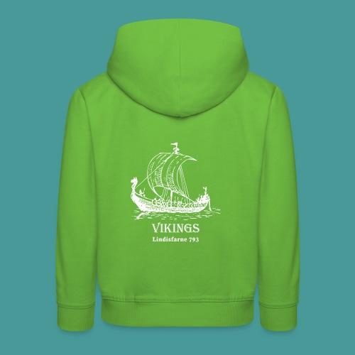 vikings Lindisfarne 793 - Premium-Luvtröja barn
