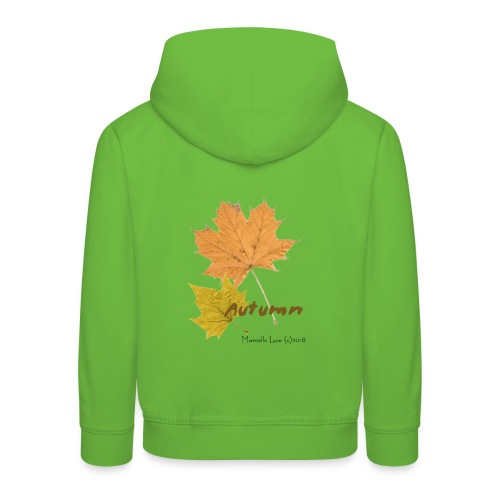 Streetworker art by Marcello Luce - autumn 2018 - Kinder Premium Hoodie