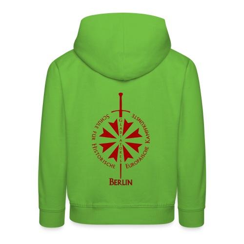 T shirt front B - Kinder Premium Hoodie