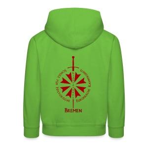 T shirt front HB - Kinder Premium Hoodie