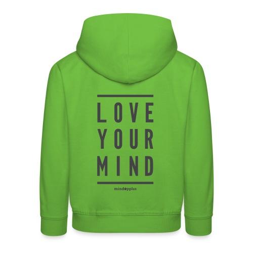 Mindapples Love your mind merchandise - Kids' Premium Hoodie