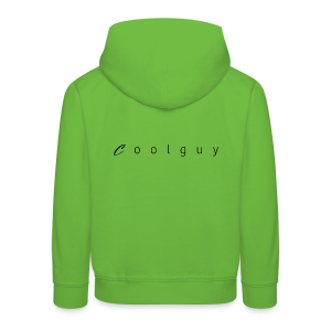 coolguy Collection - Premium Barne-hettegenser