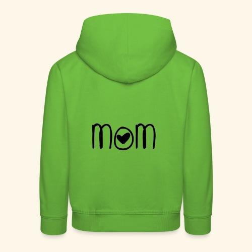 Mama, mom - Kinder Premium Hoodie