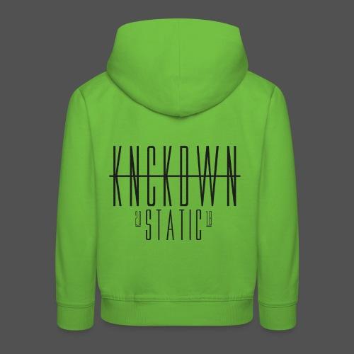 KNCKDWN static 2018 - Kinder Premium Hoodie