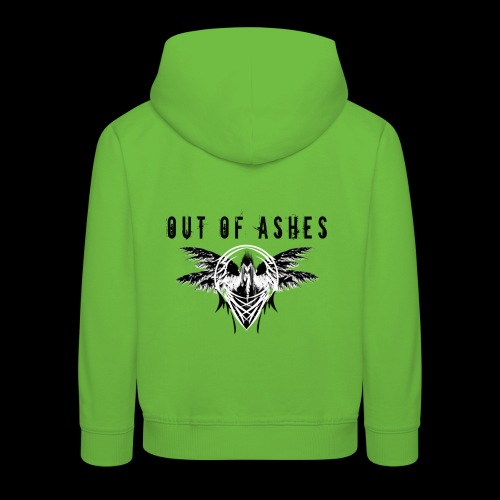 Out Of Ashes White - Kinder Premium Hoodie