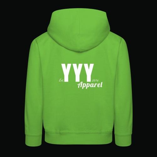 'Classic' YYY Apparel Design - Kids' Premium Hoodie
