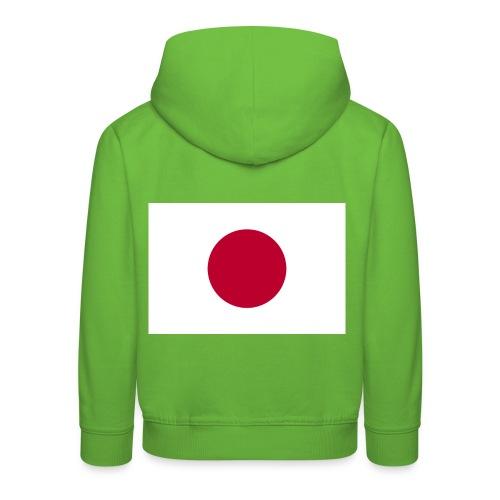 Small Japanese flag - Kids' Premium Hoodie