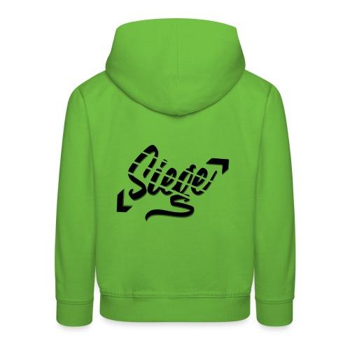 Siege - Logo - Kinderen trui Premium met capuchon