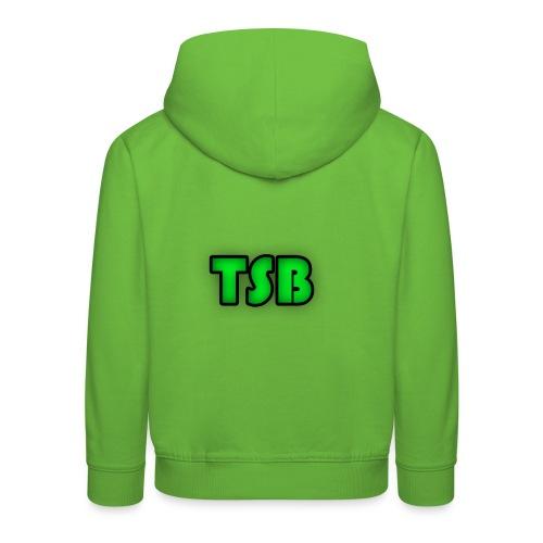 TSB logo - Kids' Premium Hoodie