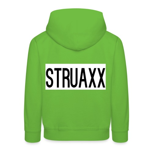 struax - Kinderen trui Premium met capuchon
