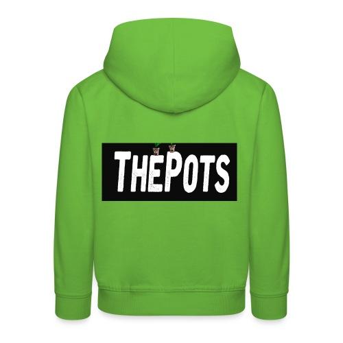ThePots Merchendise - Premium-Luvtröja barn