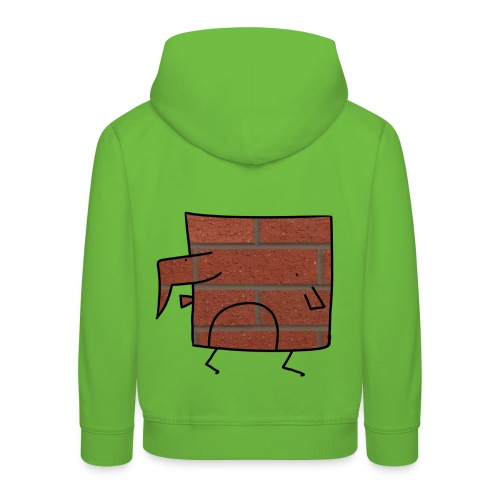 Brick Berd - Kids' Premium Hoodie