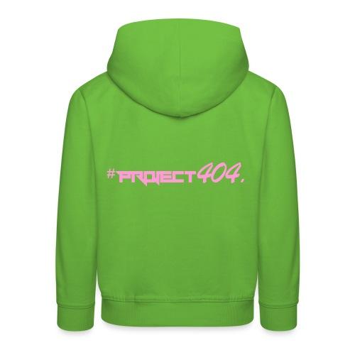 #project404 pink - Kids' Premium Hoodie