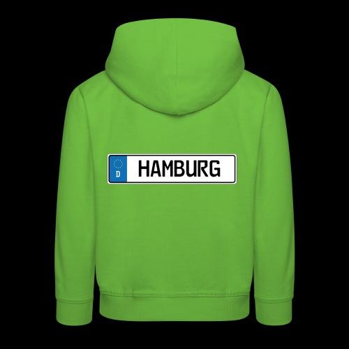 Kennzeichen Hamburg - Kinder Premium Hoodie