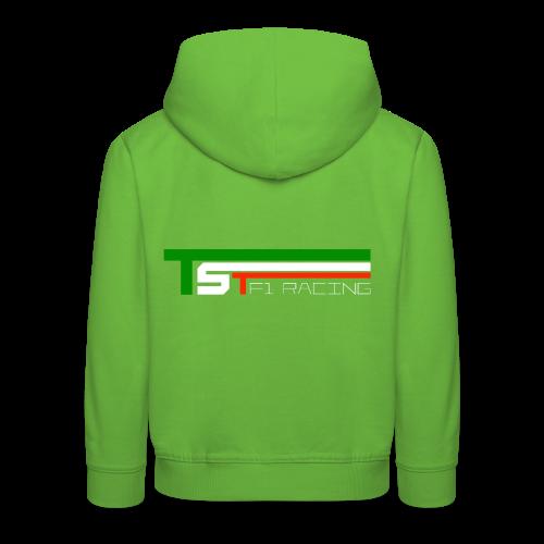 TST official - Felpa con cappuccio Premium per bambini