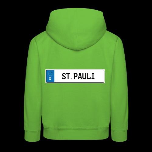 Kennzeichen St.Pauli - Kinder Premium Hoodie