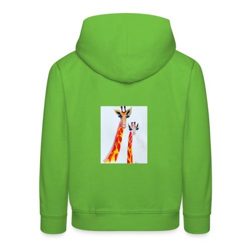 Giraffe - Kids' Premium Hoodie